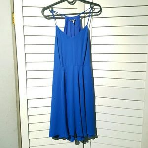 Express electric blue dress